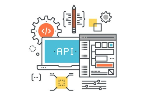 computer with graphics vector API