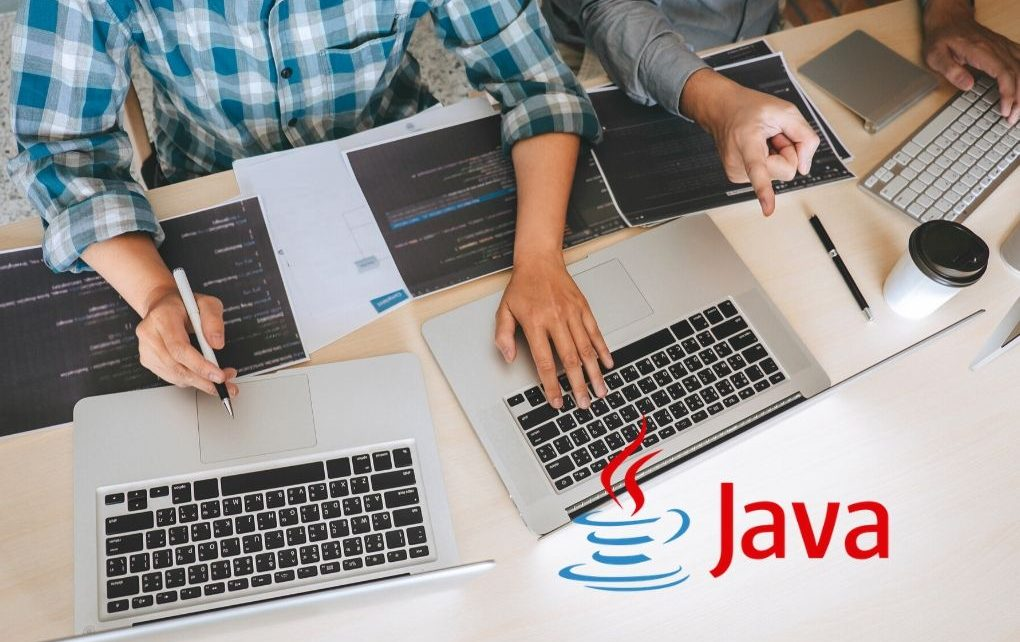 Java developers code pages and computers
